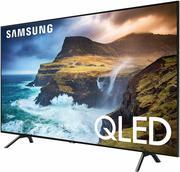 Samsung QN65Q70R Flat 65-Inch QLED 4K Ultra HD HDR Smart TV w/ 4 HDMI